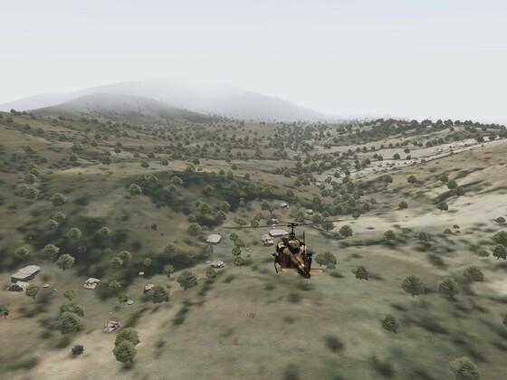 Sandy Crush - Marsch mit Hubschrauber