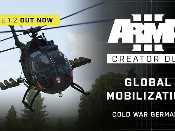 Arma 3 Creator DLC: Global Mobilization - Cold War Germany Update 1.2 Trailer